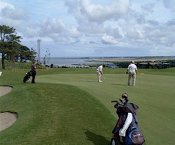 View from Wexford Golf Club