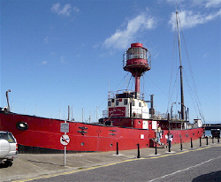 Guillemot Lightship at Kilmore Quay